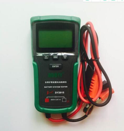 12V Car Battery System Tester Capacity Maximum Electronic load Battery Charge Test+English manual