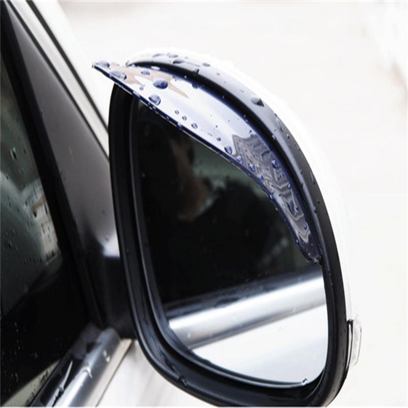 Super Hot 2 PCs Car Rearview Mirror Rain Eyebrow Storm Apron Protect Auto Accessorie Accesorios De Coche Suitable For Many Model