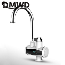 DMWD Instant Electric Heating Tap Faucet Kitchen Tankless Instantaneous Hot Water
