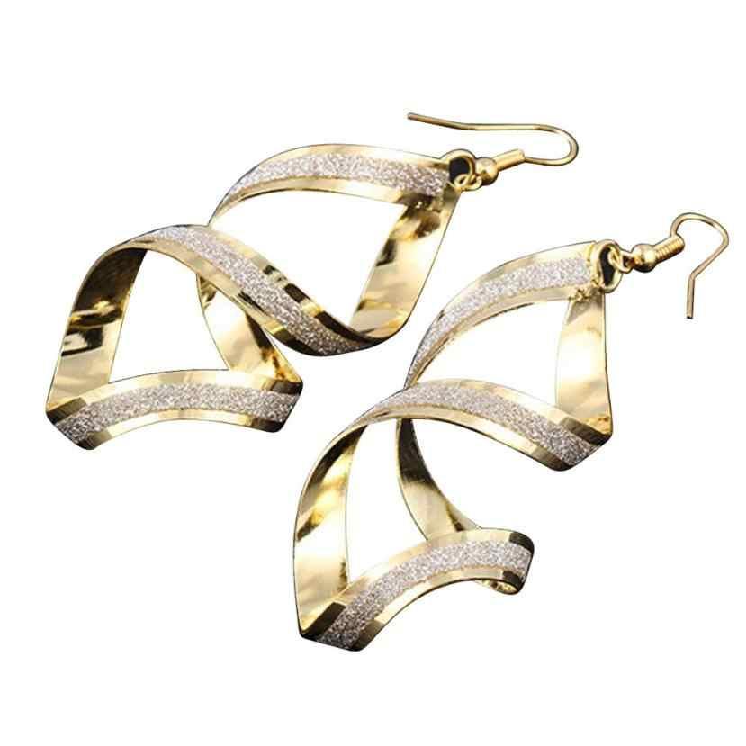 1 זוג נשים עגילי סגסוגת מט להתנדנד עגילי Eardrop תכשיטי Flawless Oorbellen Pendientes תכשיט תכשיטי אביזרי סטים