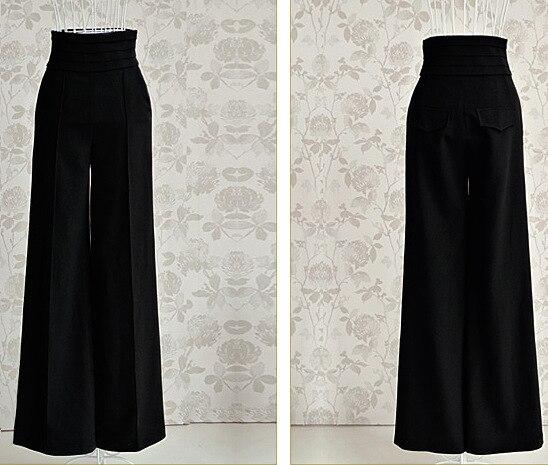 4fbc846c85e5de Pantalones de las mujeres Nuevo 2016 Mujer pantalones De Vestir Pantalones  de Cintura alta Pantalones de Las Mujeres OL Pantalones Harem Ocasional  vestido ...