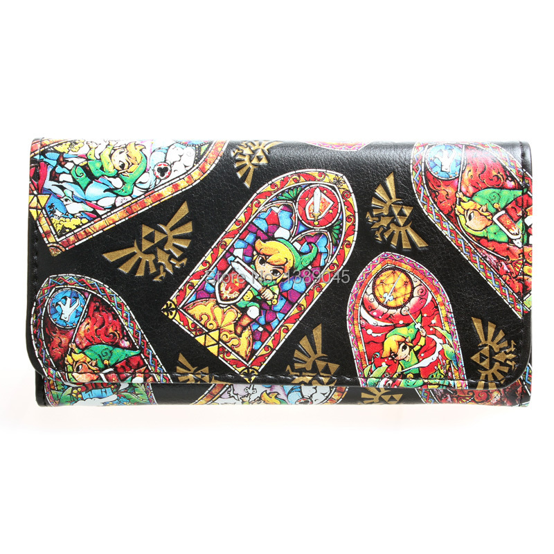 The Legend Of Zelda Wallet Young Men And Women Animated Cartoon Fashion Long Purse   DFT-1337