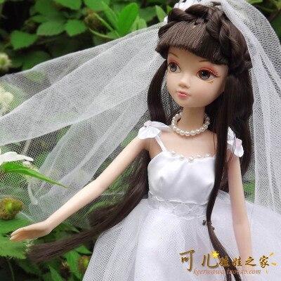 ФОТО 27.5cm  Original  kurhn doll Wedding Series   Brinquedos Meninas Bonecas Children Christmas Gift Kid Hobby  9022