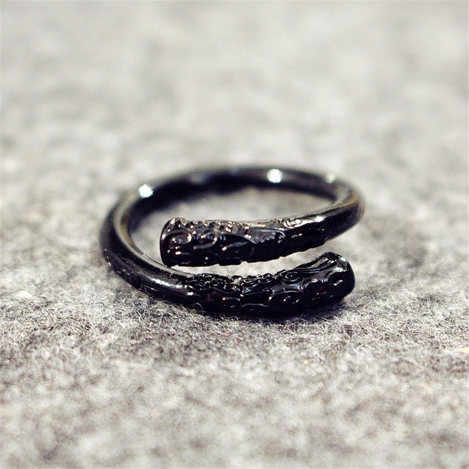 Careful Relodi Vintage Opening Rings For Women Men Monkey King Engagement Ring Bridal Jewelry Rings For Women Party Gift Sp2254 Engagement Rings