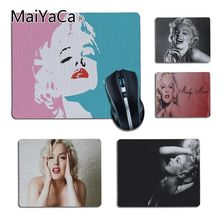 MaiYaCa Funny Marilyn Monroe Customized MousePads Computer Laptop Anime Mouse Mat for girl gift Dota2 CS Player gaming mouse pad