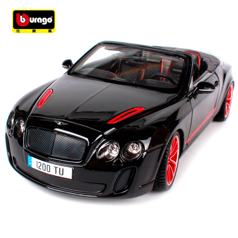 Bburago 1:18 Continental Supersports Convertible ISR Sports Car Diecast Model Car Toy New In Box Free Shipping 11035