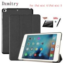 все цены на Case for New iPad Mini 5 mini 4 magnetic Smart Cover ipad mini 2019 Tablet protective cases+film+Pen(Not For iPad mini 1 2 3) онлайн