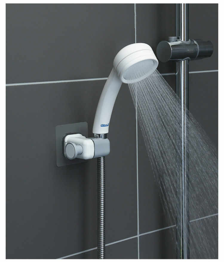 Universal Wall Mounted Shower Head Holders Bracket Adjustable For Bathroom/_HOT