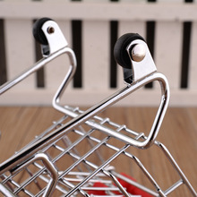 Fun Hamsters Pet Parrot Bird Supermarket Shopping Cart Intelligence Growth Funny Kids Moving Toy Home Decor