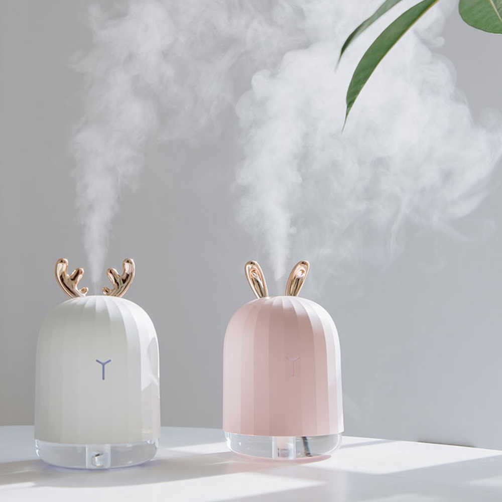 Xiaomi Cooperation Brand 3 Life 220ML Air Humidifier Aroma Essential Oil Diffuser for Home Car USB Fogger Mist Maker LED Light