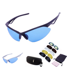 With 6 Lens 2016 Men Women Cycling Glasses UV400 Outdoor Sports Windproof Eyewear Mountain Bike Bicycle