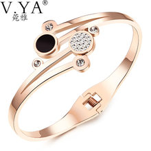73d91f94d3f9e Popular Rose Gold Bangle with Color Pearl-Buy Cheap Rose Gold Bangle ...