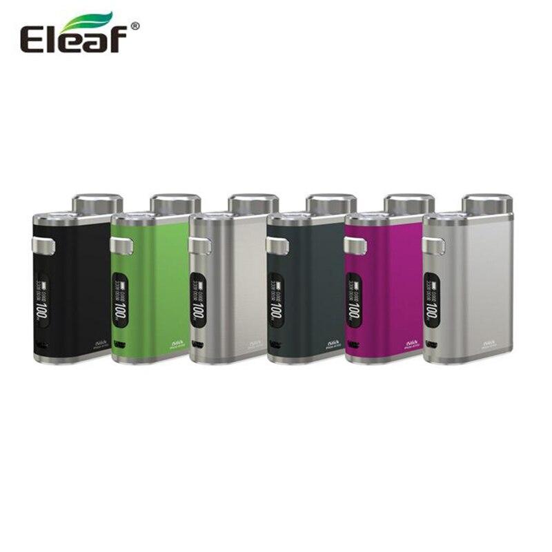 Original Eleaf iStick Pico 21700 MOD 100W iStick Pico BOX MOD Compatible with 21700/18650 Battery E Cigarette fit ELLO tank
