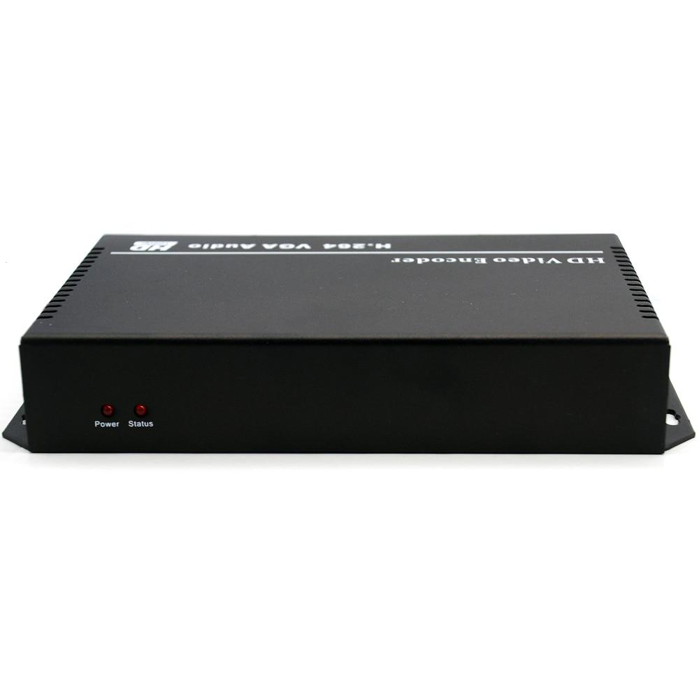 URay H.264 VGA + Audio Stereo Në Encoder IP të Streamit IPTV - Audio dhe video në shtëpi - Foto 4