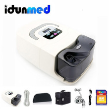BMC GI CPAP Machine With Nasal Mask Humidifier Filter Hose Bag Breathing Apparatus Portable Respirator For Sleep Apnea Snoring
