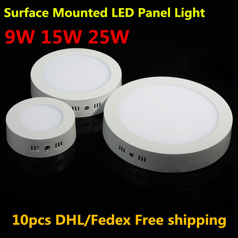 No Cutting LED Ceiling Light 25W Surface Mounted LED Panel