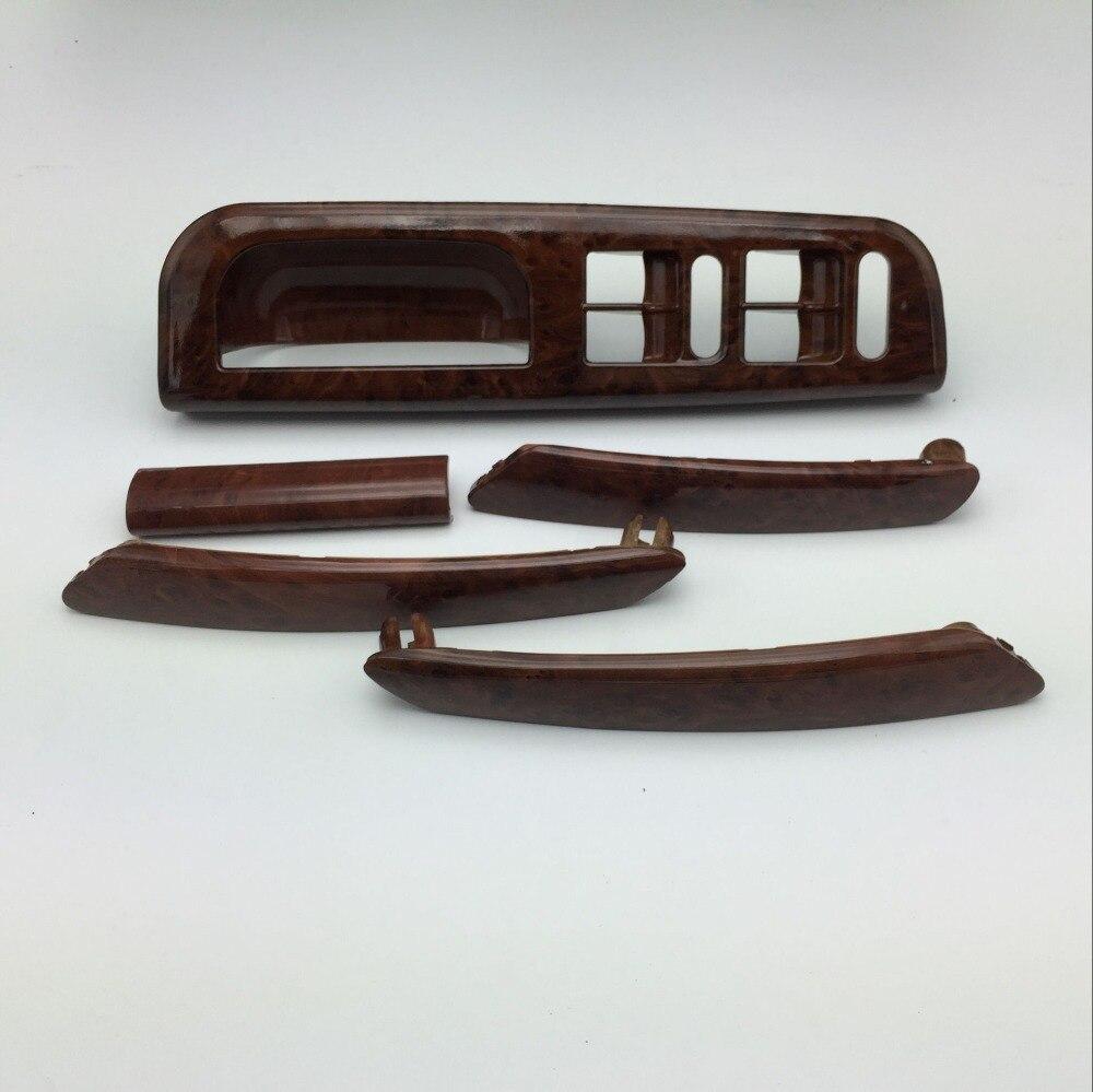 5 шт. для VW Passat B5 Дверь из вишнёвого дерева ручка переключатель окна кронштейн Управление Панель базы накладка 3B1 867 171 F