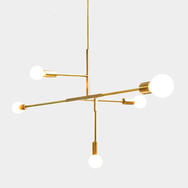 Современный скандинавский стиль, стеклянный шар, золото, железо, елочка, ветка, подвесной светильник, лампа для гостиной, ресторана, спальни, подвесной светильник ing