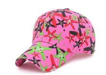 2018 Starfish Baseball Cap Cartoon Trucker Hat pink Snapback Gorras Bone  Mother Mom Life Hat Outdoor c82c712c1cde