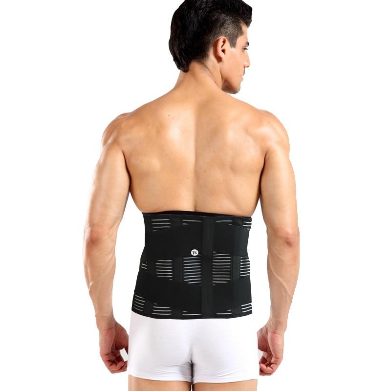 Espartilho ortopédico Médica Cinto de Suporte Para As Costas Respirável Homens Double-side Puxa de Volta Da Cintura Cintos de Suporte Postura Corrector Y015