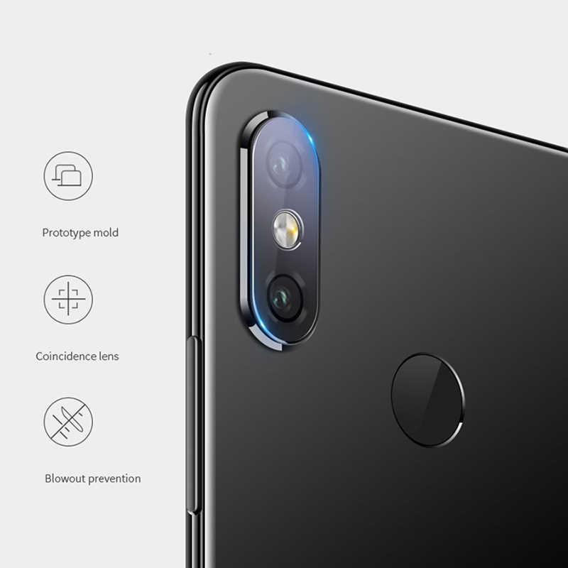 UVR для Xiaomi Mi A2 lite Камера объектив из закаленного Стекло для Xiaomi Mi A2lite 7 H прозрачная HD защитная пленка для задней поверхности из мягкого Камера защита для объектива защитная пленка