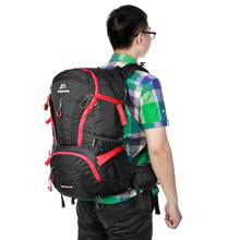 Maleroads 40L Outdoor Sports Hiking Backpack Water-Resistant Nylon Bag Mountaineering Camping Traveling Bags