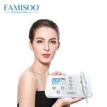 hot deal buy intelligent micropigmentation device n6ii famisoo tattoo rotary kits starter kit tattoo machine permanent makeup professional