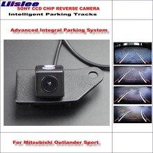 цена на Liislee Dynamic Guidance Rear Camera For Mitsubishi Outlander Sport 2010~2015 / HD 860 Pixels Parking Intelligentized