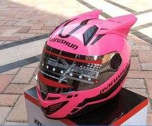 Бесплатная доставка Мотоциклетный Шлем MARUSHIN 999rzs угловой розовый белый черный желтый