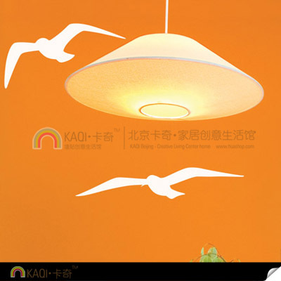 Diy wall wallpaper paper wall stickers background wall seagull - 5 set