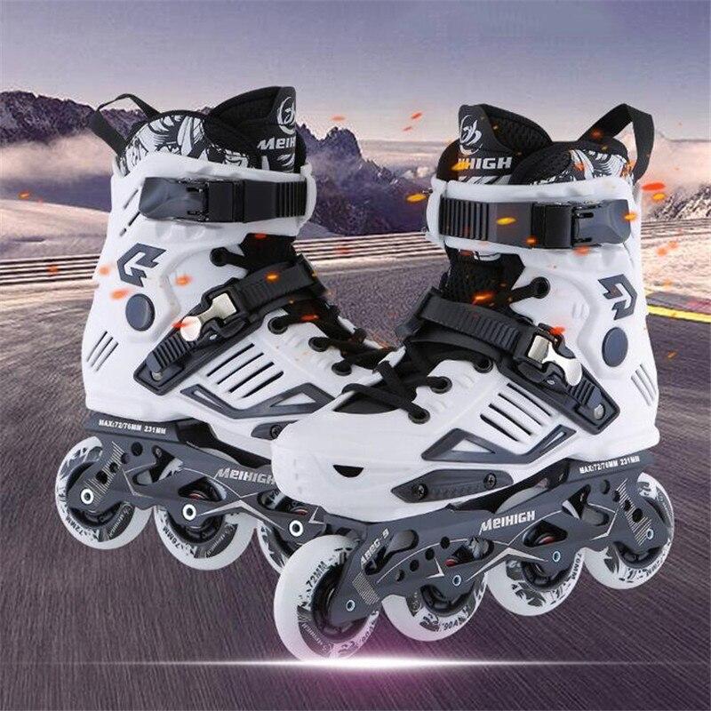 Patins à roues alignées professionnels Patins à roulettes adultes pour adultes hommes femmes Patins de patinage gratuits 4 roues