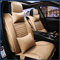 Car seat covers for Hyundai ELANTRA  Accent ix30 ix35 tucson brand firm soft pu leather Front & Rear full seat covers easy clean