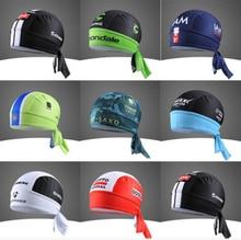 Anti-sweat bicycles bandana team headwear styles scarf hats baseball caps bike