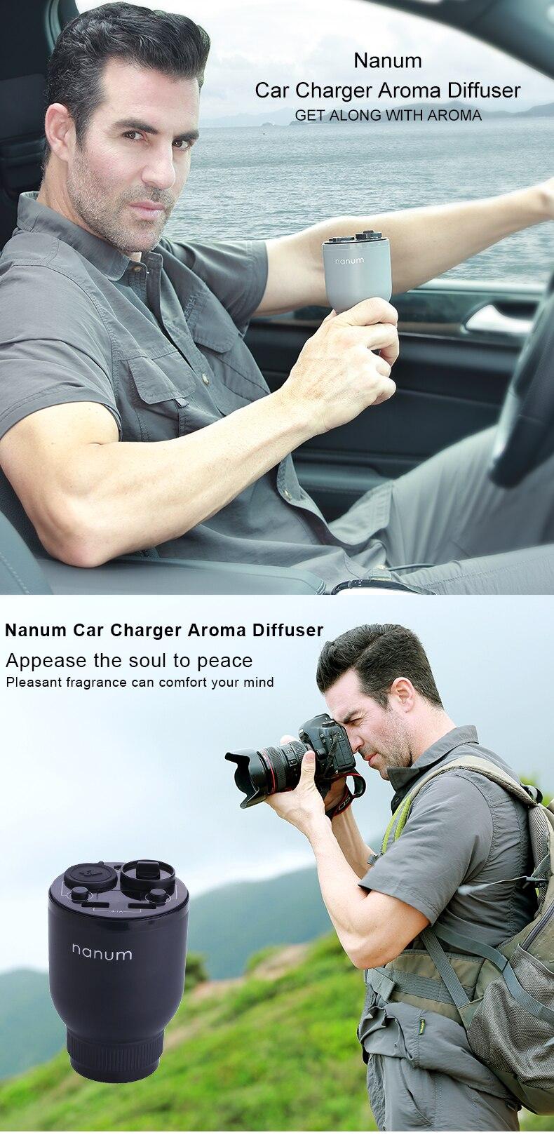 Car Aroma Cup Car Humidifier Car Charger Aroma Diffuser Car Energy Cup Car Air Purifier  (1)