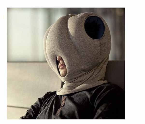 office sleeping pillow. the magical ostrich pillow office nap car everywhere nod off to sleep sleeping m