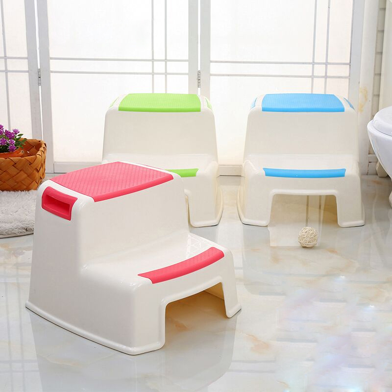 2 Step Stool For Kids Toddler Stool For Toilet Potty Training Stool For Bathroom Kitchen