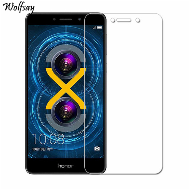 2Pcs For Tempered Glass Huawei Honor 6X Screen Protector For Huawei Honor...