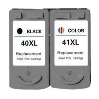 Ink Cartridge PG40 40 CL41 41 Cartouche encre Replacement For Canon Pixma MP160 MP180 MP220 MX310 iP1800 Printer Cartridges
