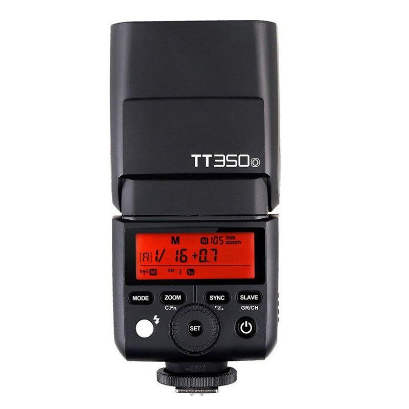 Godox Speedlite TT350O TTL Camera Flash Speedlite 1/8000 s HSS GN36 Voor Olympus/Panasonic Mirrorless DSLR Camera-in Flitsen van Consumentenelektronica op  Groep 1