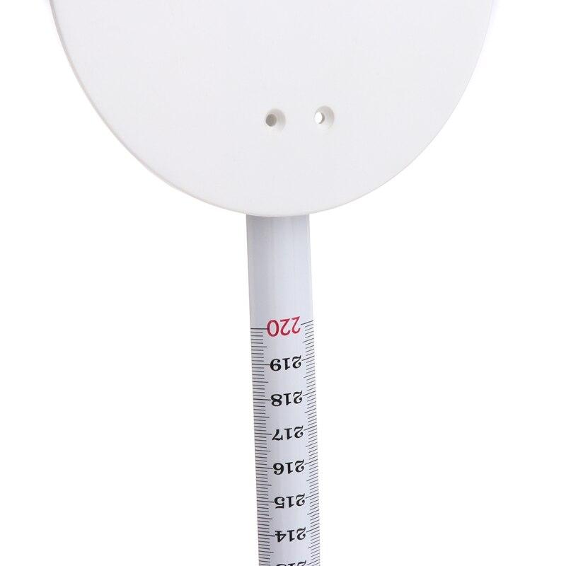 Fixada na Parede do Crescimento do Medidor da Altura do Stadiometer de 220cm com Ferramentas da Placa de Parede Régua Ferramentas da Placa Parede de 220cm com