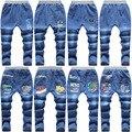 Высокое качество детские джинсы песок мыть чистый белый светлый цвет джинсы Трусики оптовая доступны