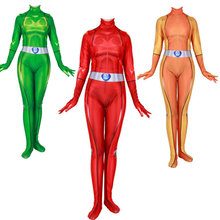2019 new cosplay  Girl Secret Service Cosplay role-playing tights Adult children Custom dress Halloween jumpsuits Post