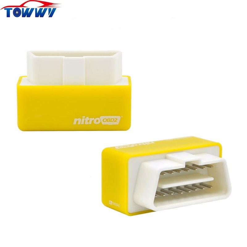 2017 High Quality Nitro OBD2 Benzine Plug and Drive Nitro OBD2 Perfomance Chip Tuning Box More