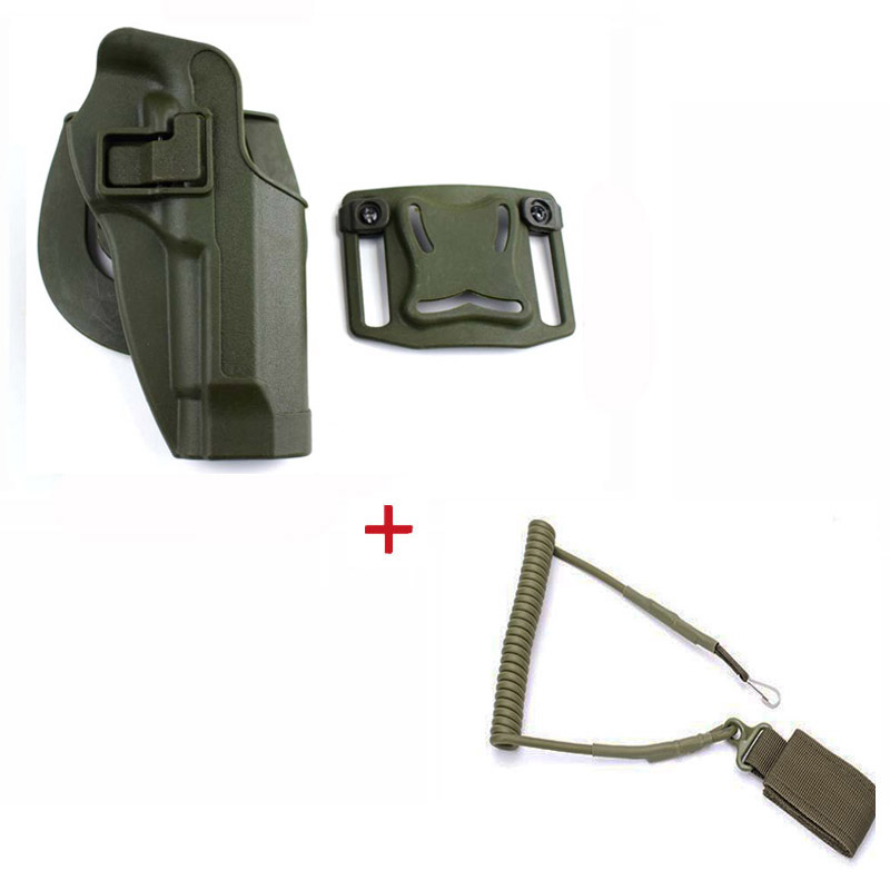 Image 3 - Tactical Belt Holster Beretta M9 92 96 Pistol Holster Military Airsoft Shooting Gun Holster For M9 Holster Hunting Accessories-in Holsters from Sports & Entertainment