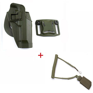 Image 3 - Tactical Belt Holster Beretta M9 92 96 Pistol Holster Military Airsoft Shooting Gun Holster For M9 Holster Hunting Accessories