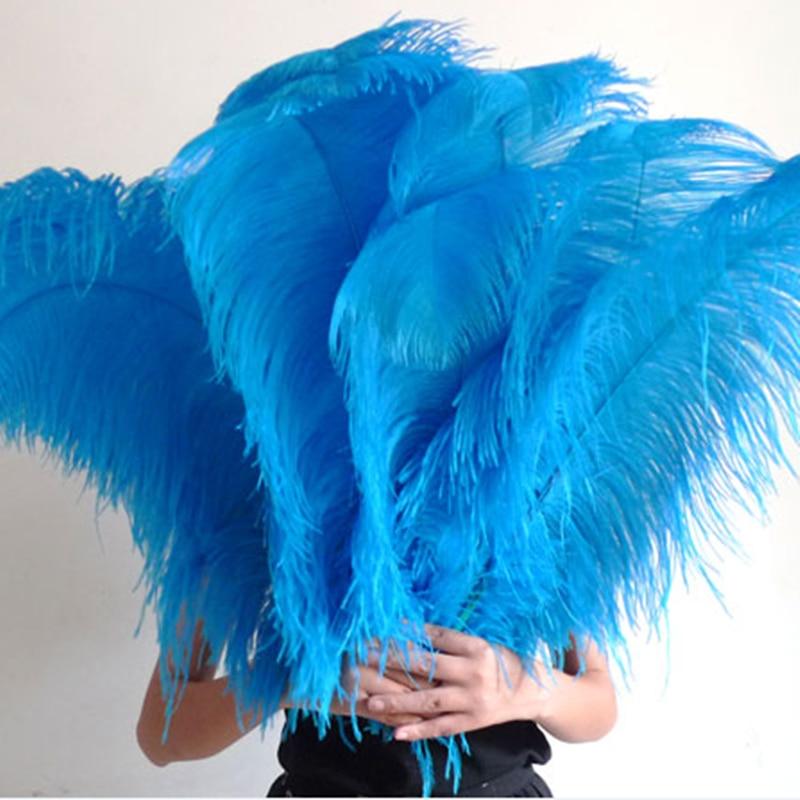 Samba 100 teile / los Verkauf Farbige Straußenfeder 65 cm-70 cm, - Kunst, Handwerk und Nähen - Foto 5