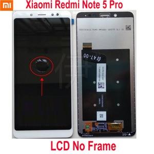Image 2 - מקורי הטוב ביותר Xiaomi Redmi הערה 5 פרו MEG7S LCD תצוגת 10 נקודת מגע מסך Digitizer עצרת עם מסגרת Hongmi Note5 חיישן
