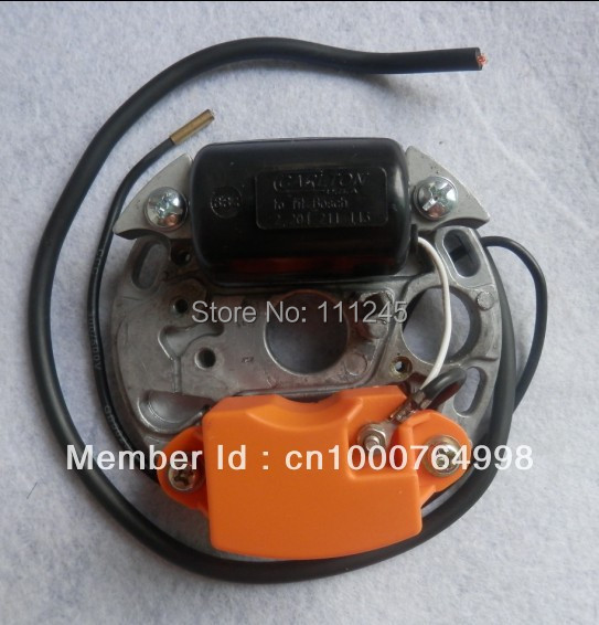 ELECTRIC IGNITION COIL ASSY FOR CHAIN SAW 070 090 G  105CC CHAINSAW EXCITER ARMATURE STATOR PLATE 1064043210
