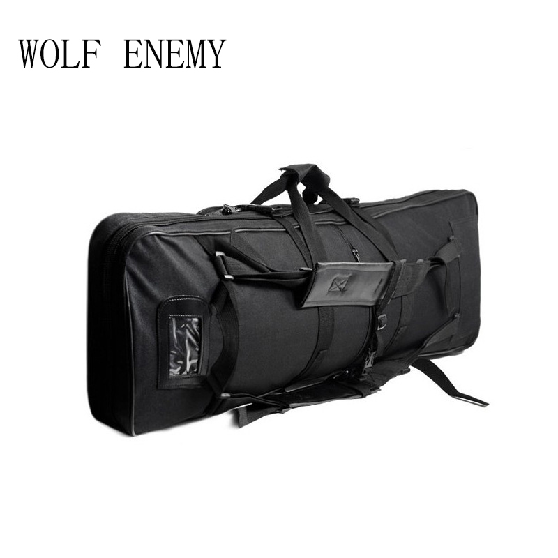 Outdoor Military Hunting Tactical Bag Hunting Gun Accessories Square Carry Bag Gun Protection Case Backpack 140cm / 55.1 gun protector case backpack tactical handgun pistol carry bag wargame sports military hunting camping bag pouch backpack