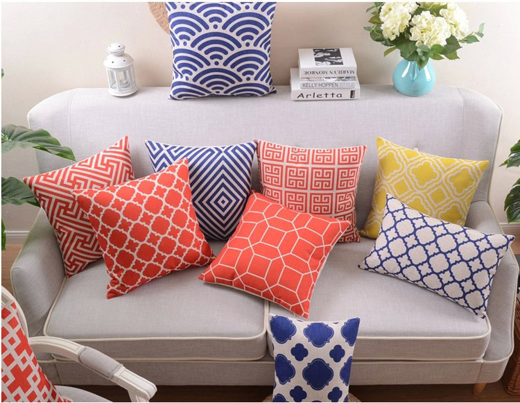 Cotton Linen Cushion Cover Ikea